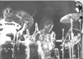 avec Manu Dibango au Chapiteau de Pantin en 1979