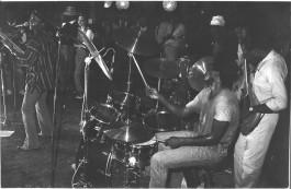 à la rue Dunois avec Vicky Edimo en 1980